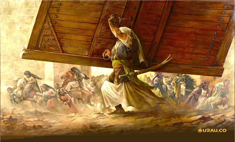Perang khandaq ALi bin Abi Thalib