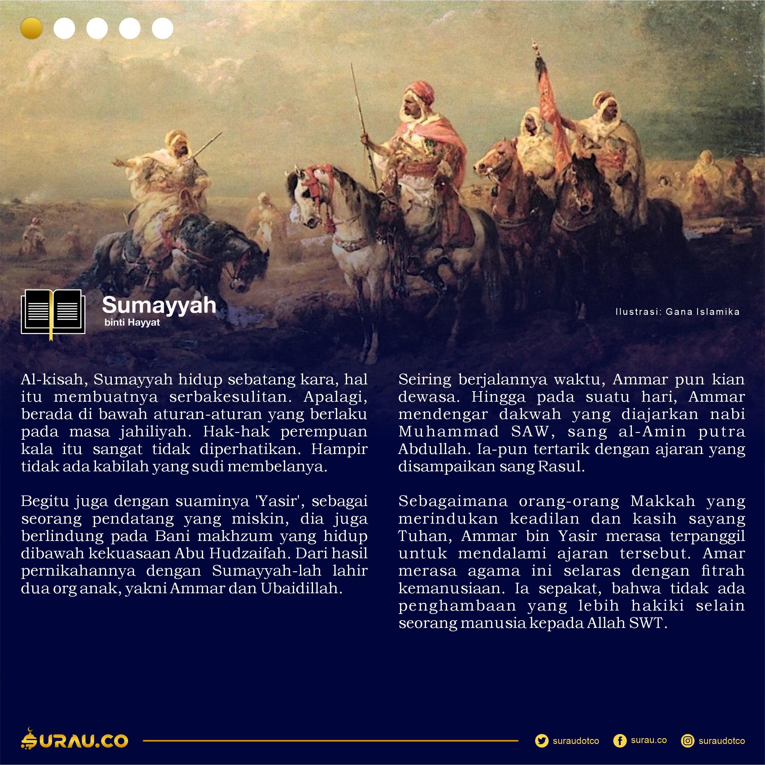 Kisah Sumayyah slide 1