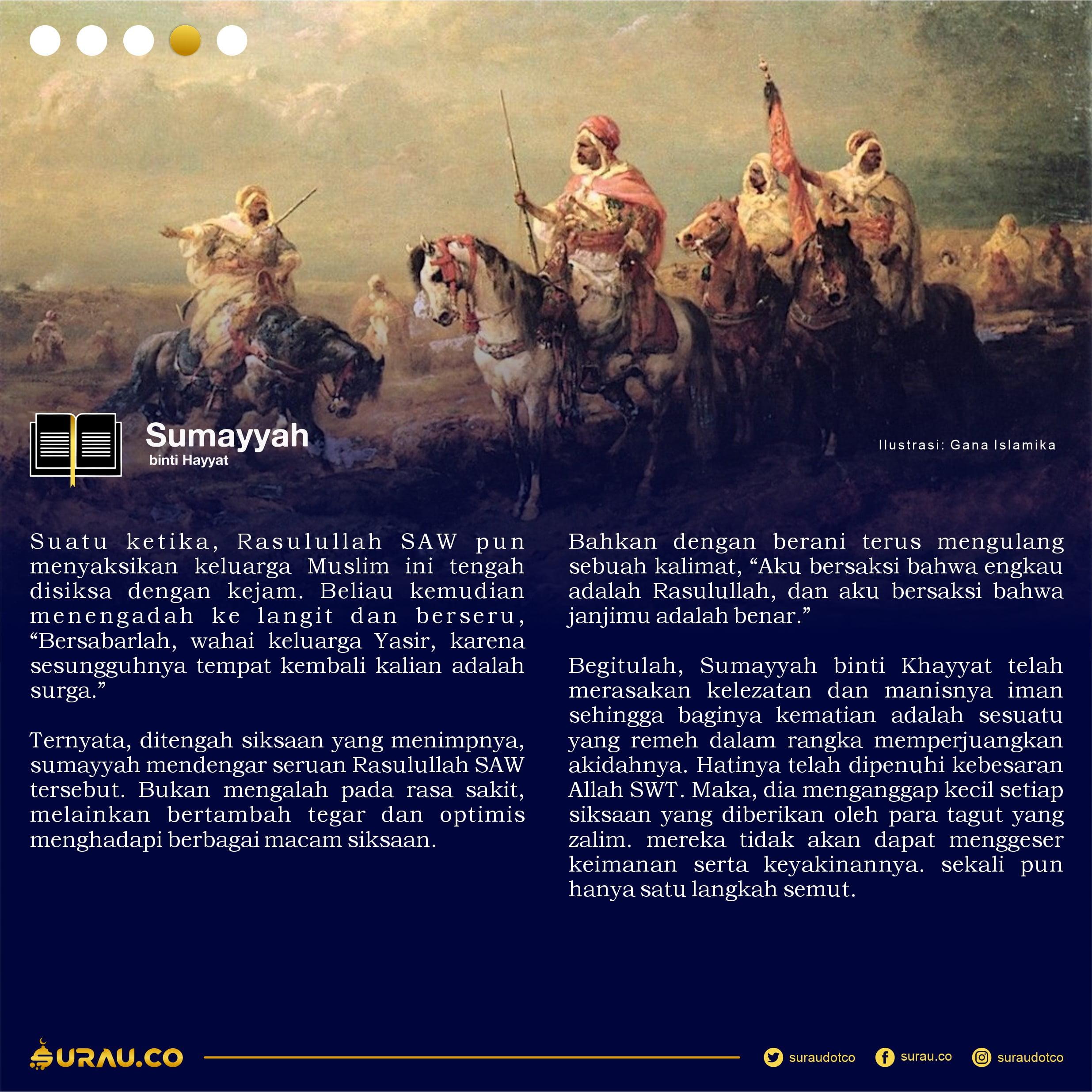 Kisah Sumayyah slide 4