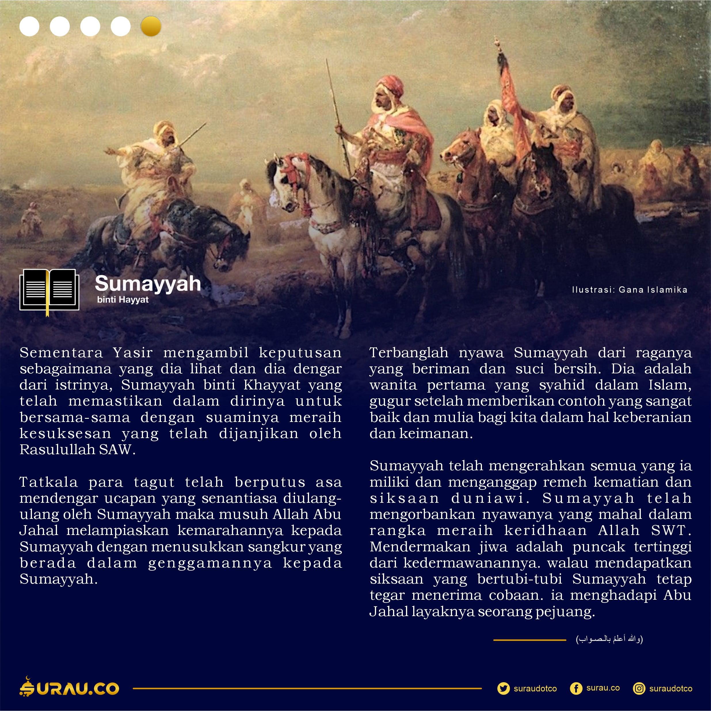 Kisah Sumayyah slide 5