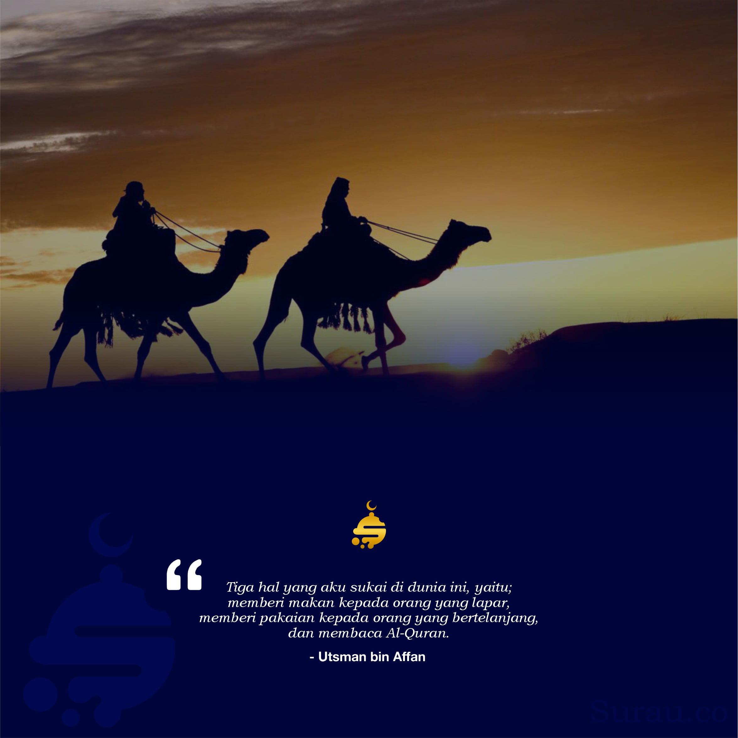 Quotes Utsman bin Affan 1