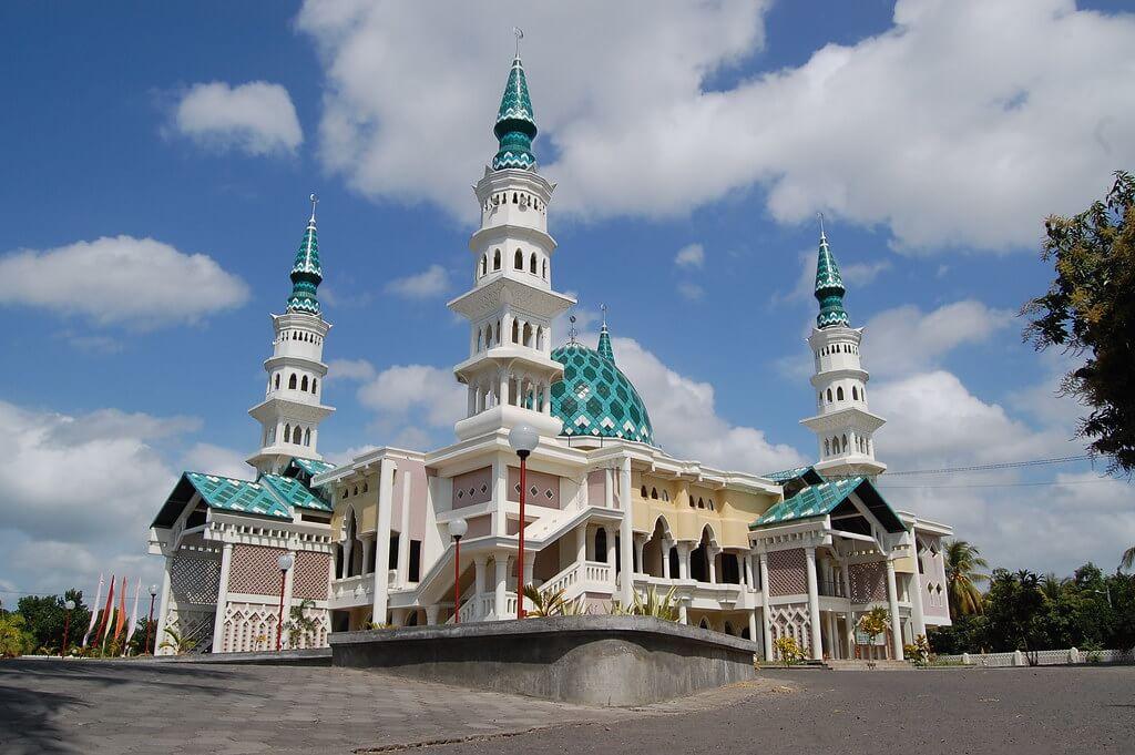 Masjid Agung Al-Mujahidin Selong Lombok Timur