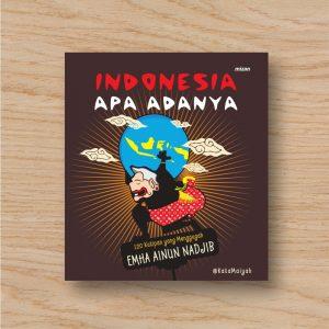 Buku Indonesia Apa Adanya - Mizan