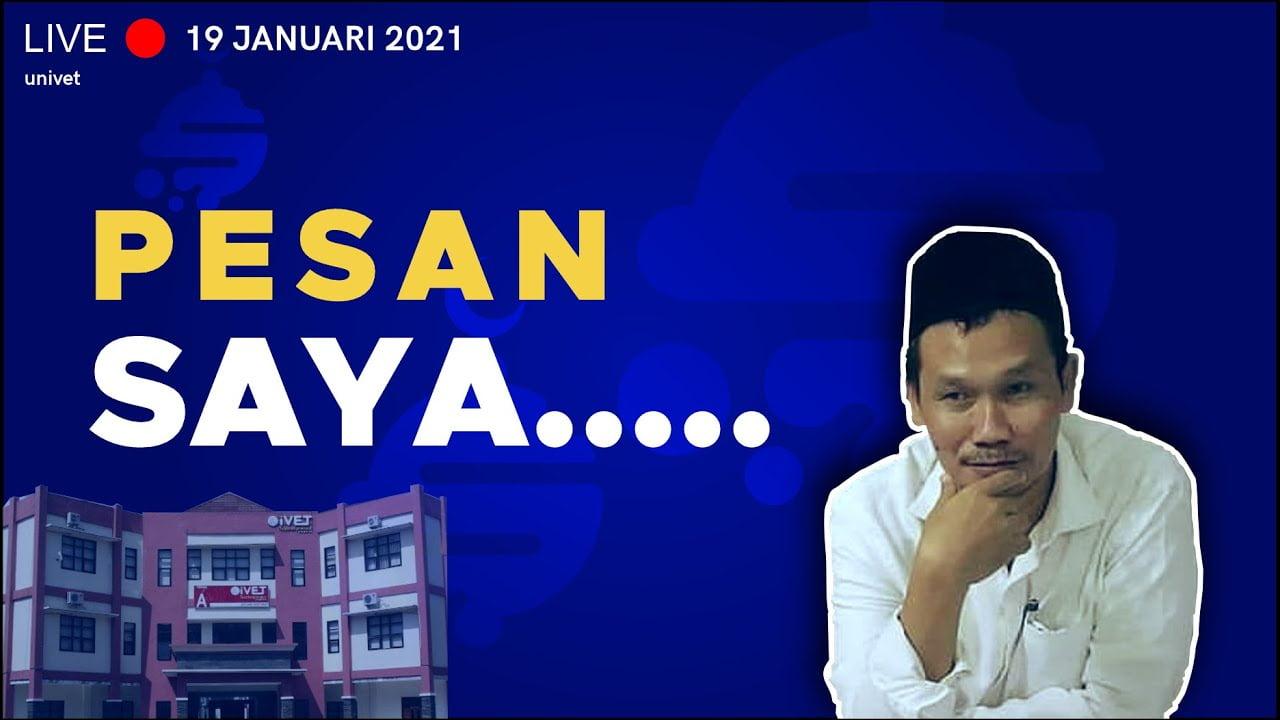 Gus Baha Terbaru | LIVE - Muhasabah dan Munajat Kebangsaan, di Kampus UNISVET Surau