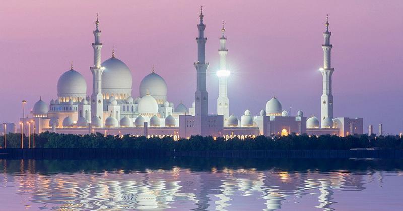 Masjid Agung Sheikh Zayed - Abu Dhabi
